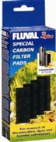 Fluval 3 + Plus Carbon Filter Pads Genuine Product Pack of 4 X3
